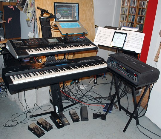 Keyboard Rig for Weather Redux