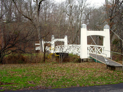 Lake Lenape bridges, Perkasie, PA