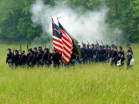 Civil War Re-enactment, Pennypacker Mills, Schwenksville, PA